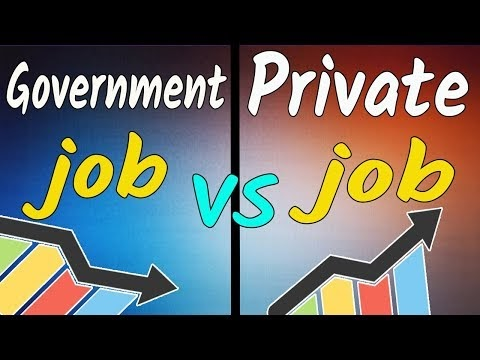 What is the Value of Government Jobs?