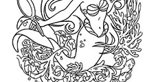 Free Printable Coloring Pages Little Mermaid