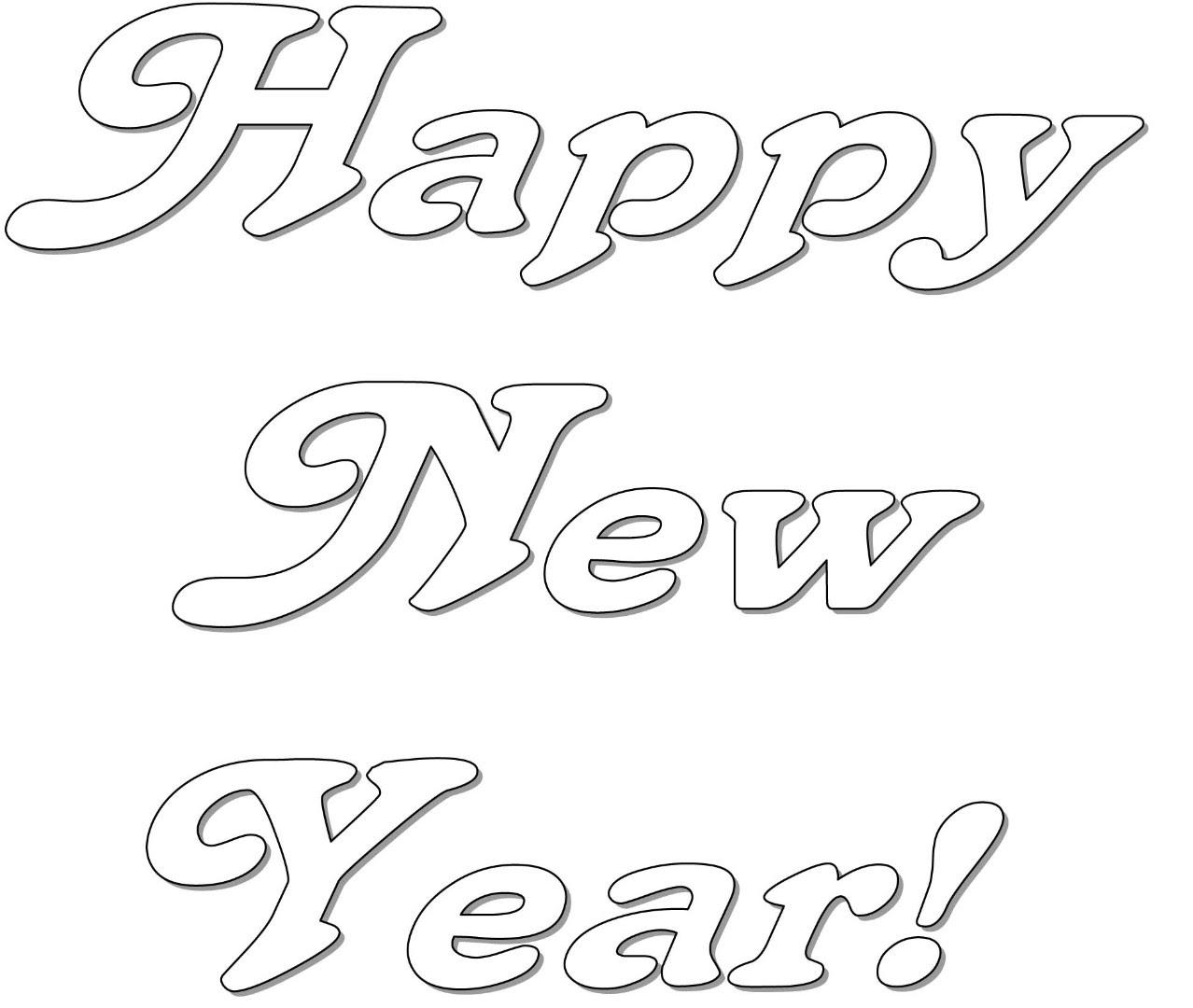 mewarn05 happy new year 2017 kleurplaat