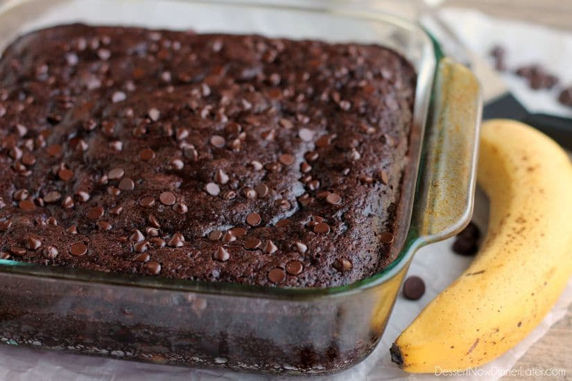 Double Chocolate Banana Cake | Healthy Ideas for Kids