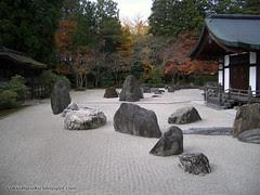Koyasan - giardino di Kongobu-ji