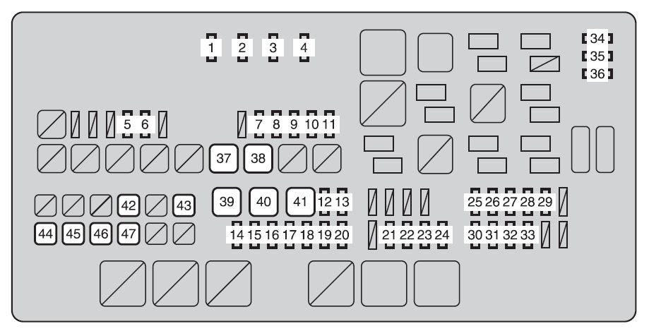 Toyota Tundra From 2013 Fuse Box Diagram Auto Genius