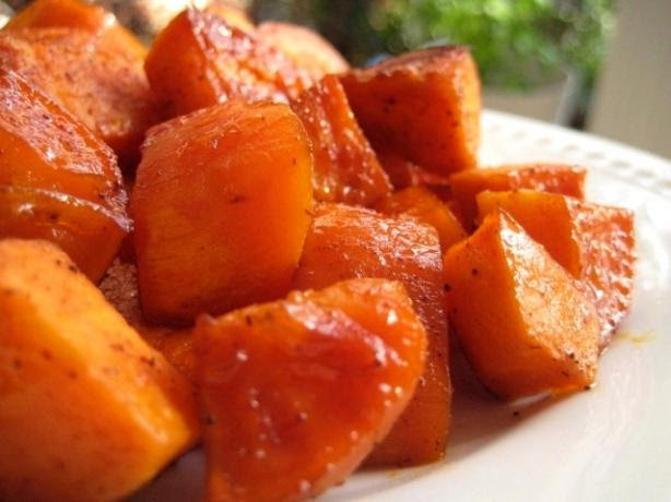 Spicy Sweet Potatoes. Photo by gailanng