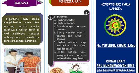 leaflet hipertensi  lansia ebooks yuflihul khair