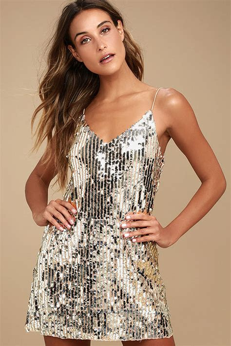 stunning silver sequin dress mini dress shift dress