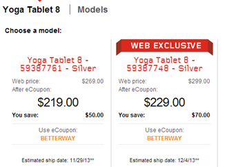 Lenovo Tablets On Sale Through Corporate Perks Site