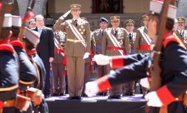El Príncipe de Asturias preside el I Centenario del Cuerpo de Intendencia.