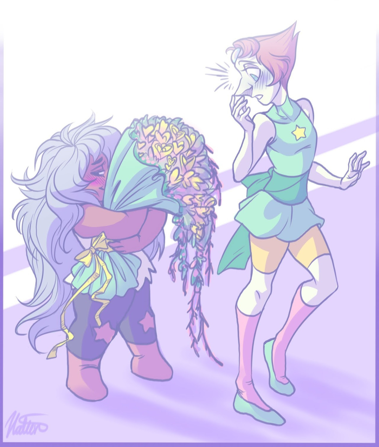 Pearlmethyst Week, Day 4: Valentine's Day