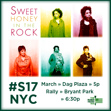 sweet honey in the rock to play at rally on sept.17 in NYC