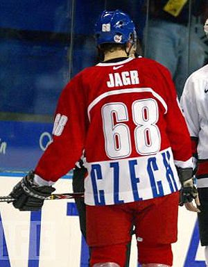 Jagr Czech Republic #68