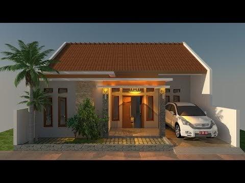 popular desain rumah sederhana 9x12 minimalis modern