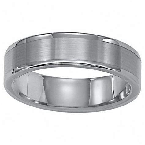 Triton Men's 6.0mm Comfort Fit Tungsten Carbide Wedding
