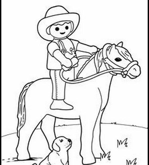 ausmalbilder pferde playmobil  ausmalbilder playmobil