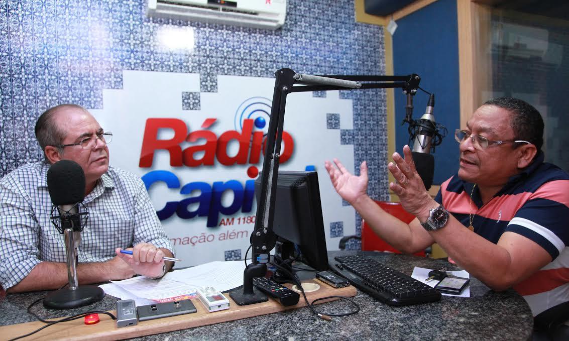 Hildo Rocha durante a entrevista concedida a este blogueiro