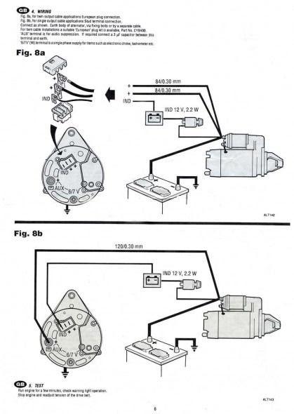 Mopar Alternator Wiring