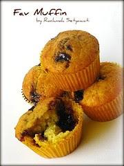 Fav Muffin Blueberry