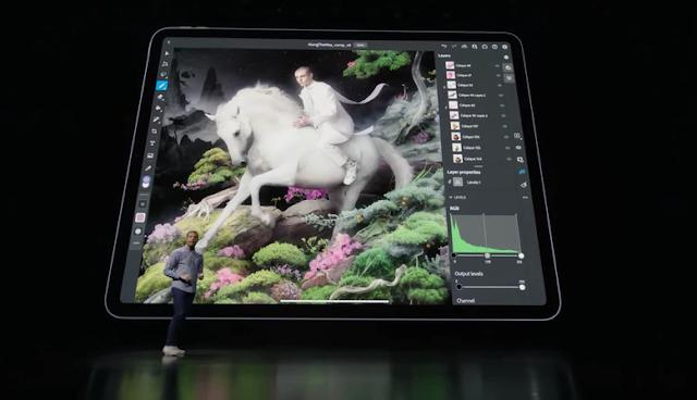 【iPad Pro 2021登場】採用更強的 M1 處理器 平板剪片、修圖無難度