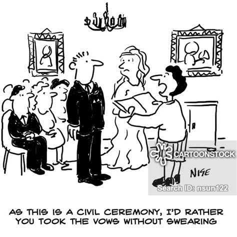 Civil Ceremonies Cartoons and Comics   funny pictures from