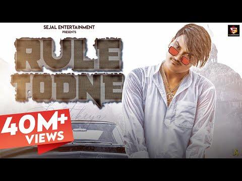 AMIT SAINI ROHTAKIYA : RULE TODNE (Full Video)   Andy Dahiya   New Haryanvi Songs Haryanavi 2020