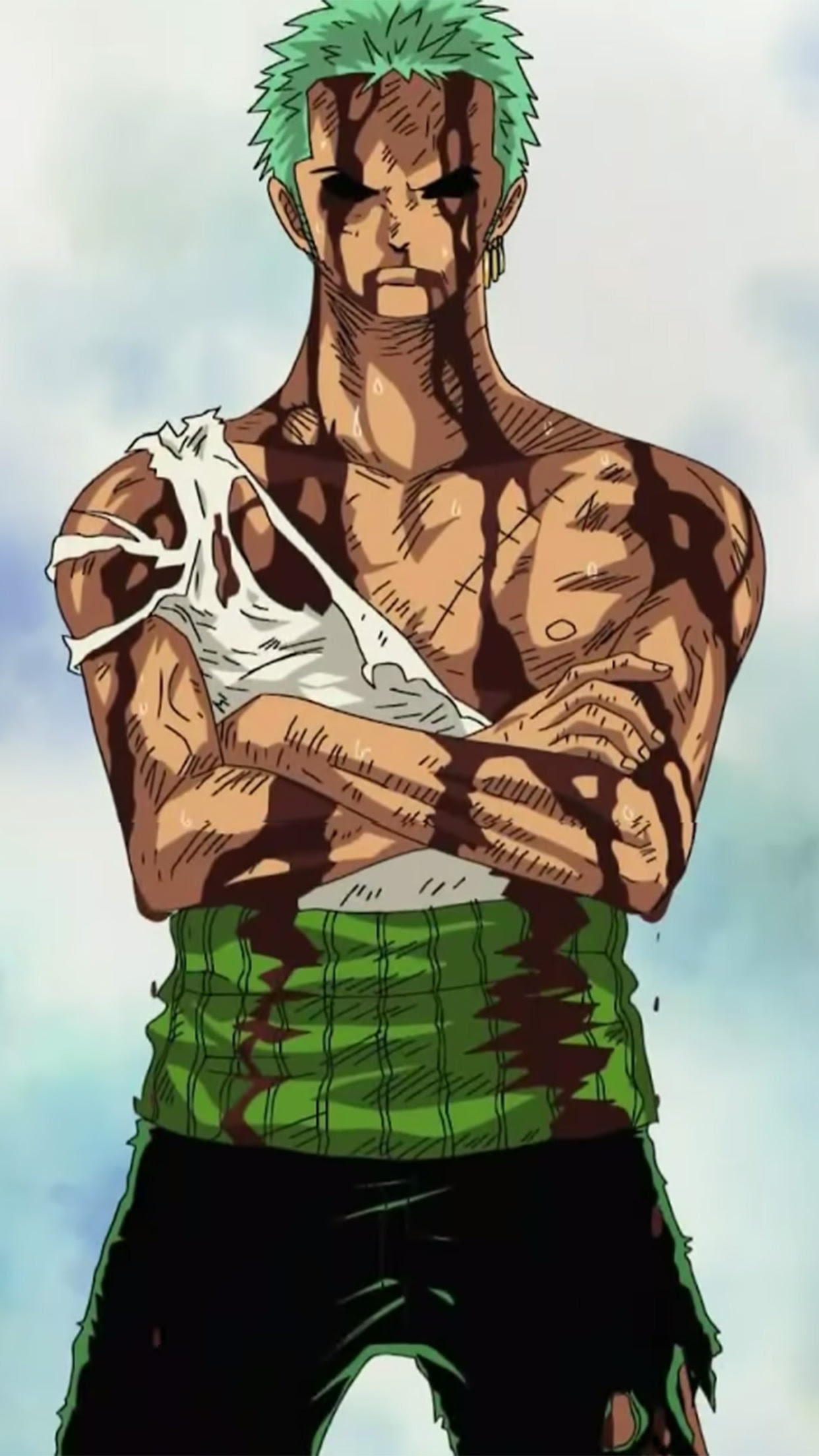 Roronoa Zoro Wallpaper For Iphone X 8 7 6 Free Download On