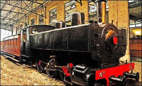 trenes viejos
