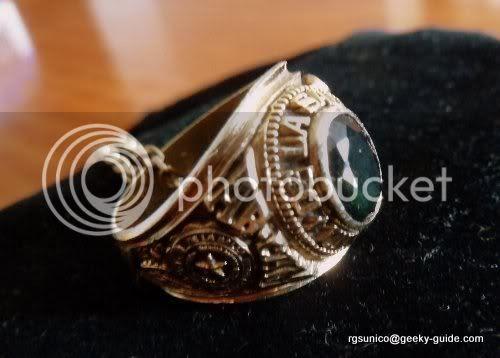 Tobie's Class Ring