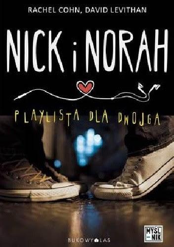 Okładka książki Nick i Norah. Playlista dla dwojga