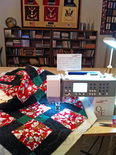 IMG_4862 quilting my Christmas table runner