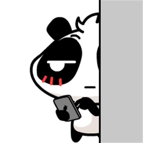 gambar animasi kartun panda lucu
