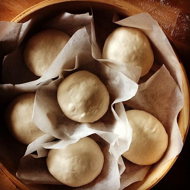 prove tecniche di cottura al vapore... #Mantou #pane #vapore #Cina #Food #foodblogger #instapic