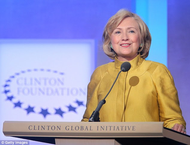 Hillary Clinton speaks onstage during the fourth day of the Clinton Global Initiative's 10th Annual Meeting at the Sheraton New York Hotel & Towers on September 24, 2014