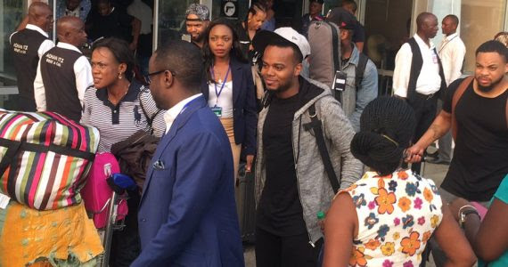 Photos: Sonnie Badu, Travis Greene In Nigeria For Night Of Worship (NOW)