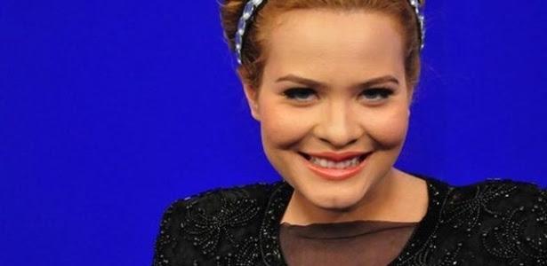 Geisy Arruda se veste de Adele para programa de TV