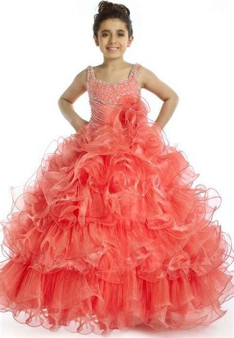 girls flower girl pageant dress custom sizecolor