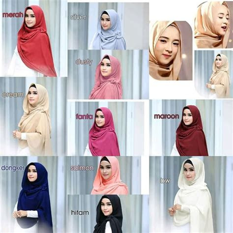 model hijab instan nissa sabyan terbaru  trend