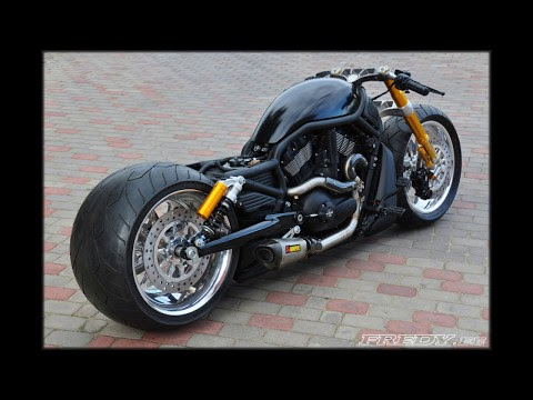 mc gjengkriminalitet harley davidson v rod night rod custom. Black Bedroom Furniture Sets. Home Design Ideas