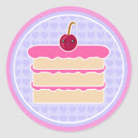 Kawaii Cake Happy Stacks Stickers