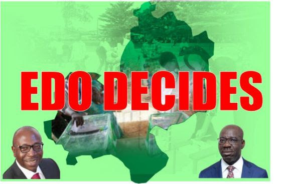 Image result for DAY 2: Edo State Governorship Election: - LIVE Results