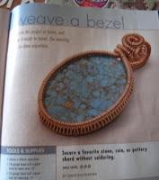 Wirework Magazine - weave a bezel