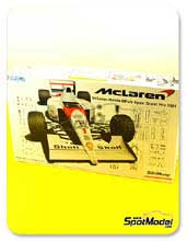 Kit 1/20 Fujimi - McLaren MP4/6 Marlboro - Nº 1,2 - Ayrton Senna, Gerhard Berger - Gran Premio de España 1991 - maqueta de plástico