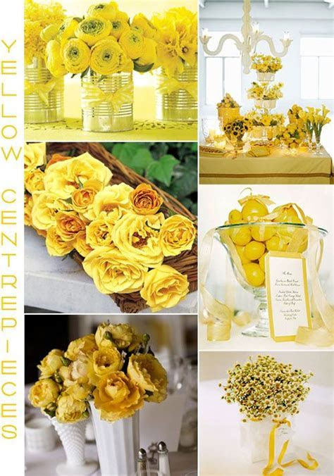 Yellow Centerpieces   Wedding   Pinterest   Wedding, Grey