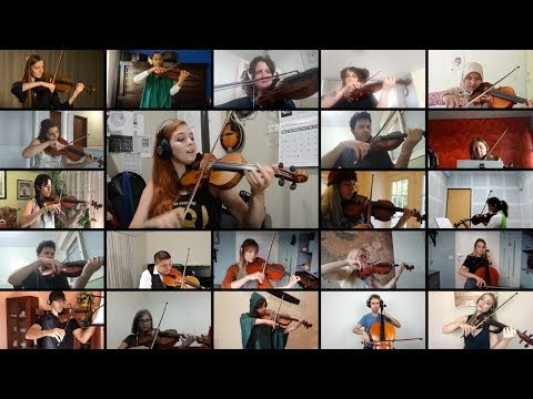 week #44 - Joining A Worldwide String Collaboration : Lord of The Rings Medley