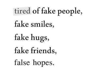 Fake People Quotes Sayings Fake People Picture Quotes