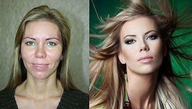 Contouring: antes e depois