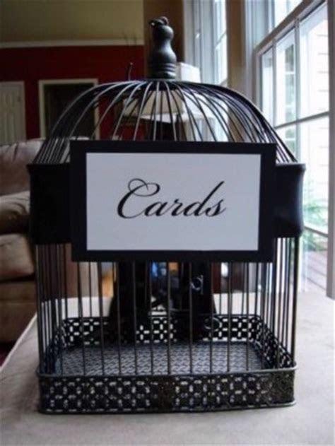 Birdcage Card Holder ? Ideas