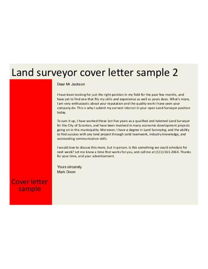 basic land surveyor cover letter l1