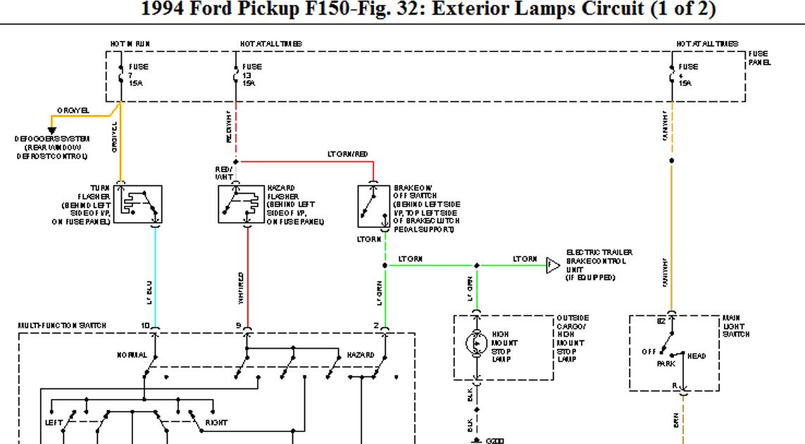 94 F150 Wiring Diagram