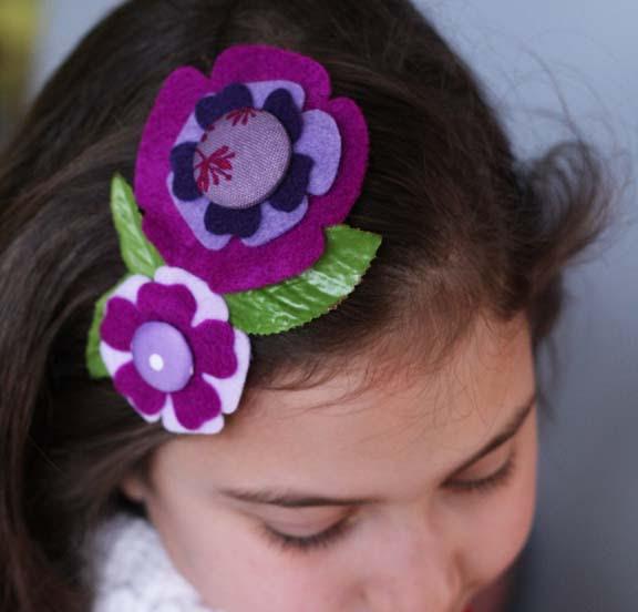 purple comb close
