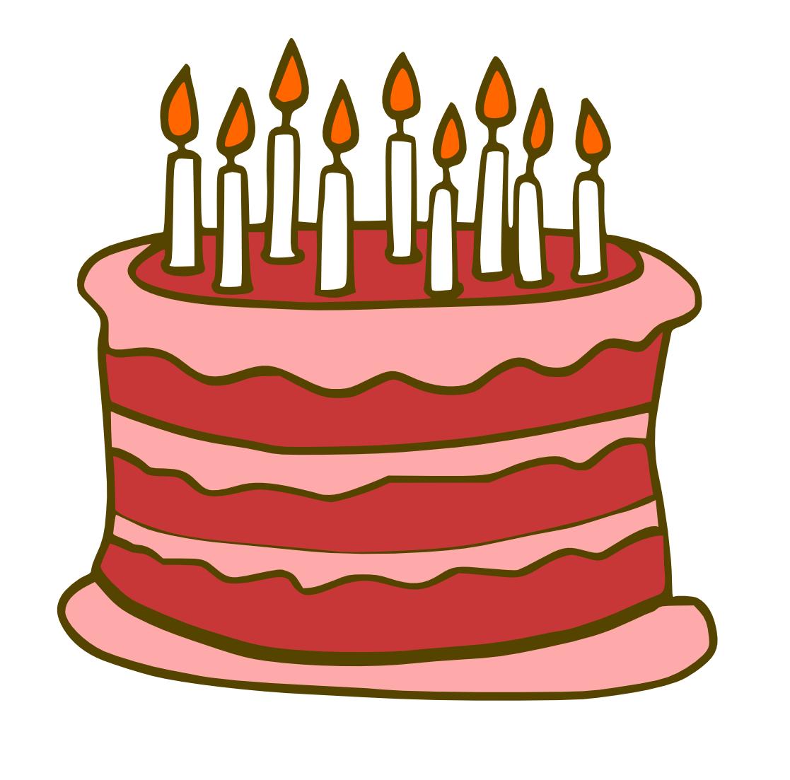 Birthdaycake Cliparts Stock Vector And Royalty Free