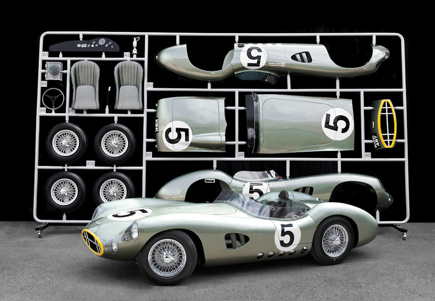 1:1 Scale Aston Martin DBR1 Model Kit Will Be Auctioned at Goodwood Revival :: News :: autoviva.com